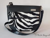 """Handtasche """"Juno"""" Zebra"""